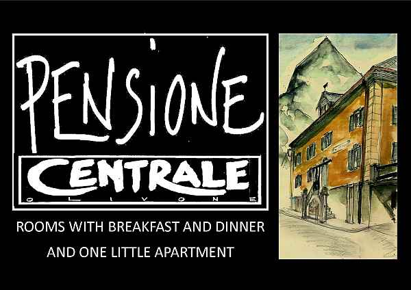 Pensione Osteria Centrale Olivone im Sommer