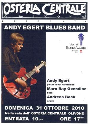 Andy Egert Blues Band  in der Osteria