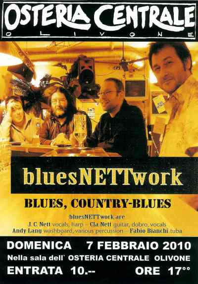 BluesNETTwork spielt Blues und Country-Blues