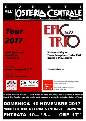 Epic Jazz Trio